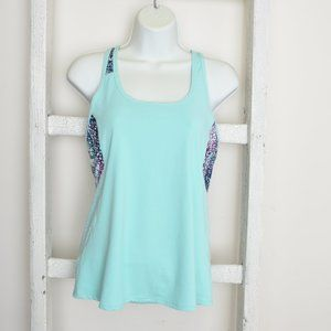 Fabletics Mint Tank top with Design